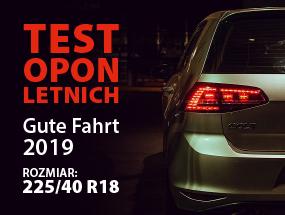 Test Opon Letnich Gute Fahrt 2019 W Rozmiarze 22540 R18