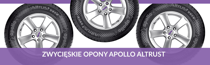 Apollo Altrust Test Opon Letnich 21570 R15 Promobil 2017