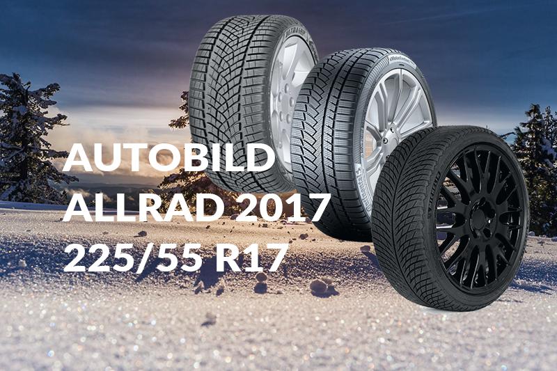 Test Opon Zimowych Autobild Allrad 2017 22555 R17