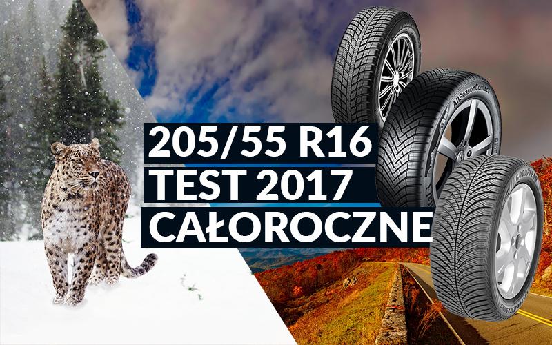 Test Opon Całorocznych Autobild 2017 20555 R16
